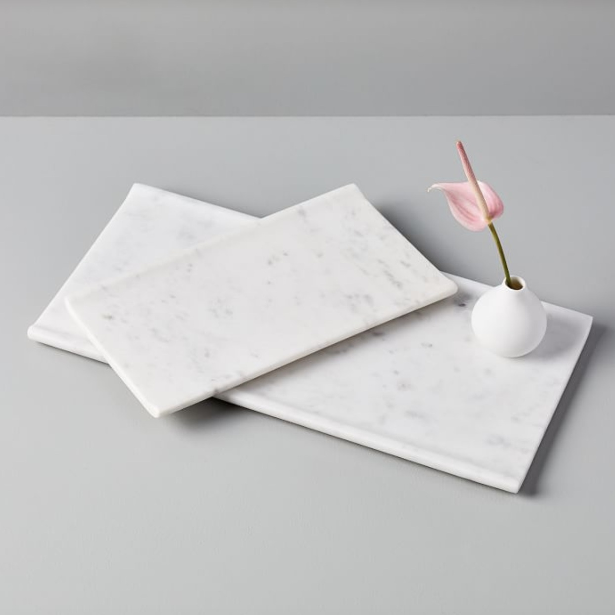 """Foundations"" - Marble tray with lip, $24-$49; West Elm"