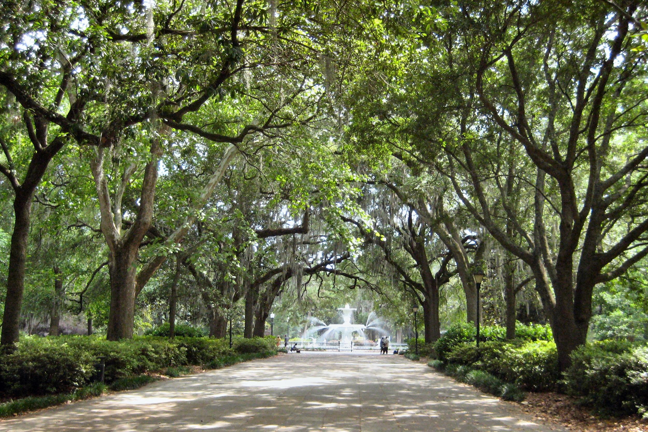 Photo: Forsyth Park - Savannah, Georgia