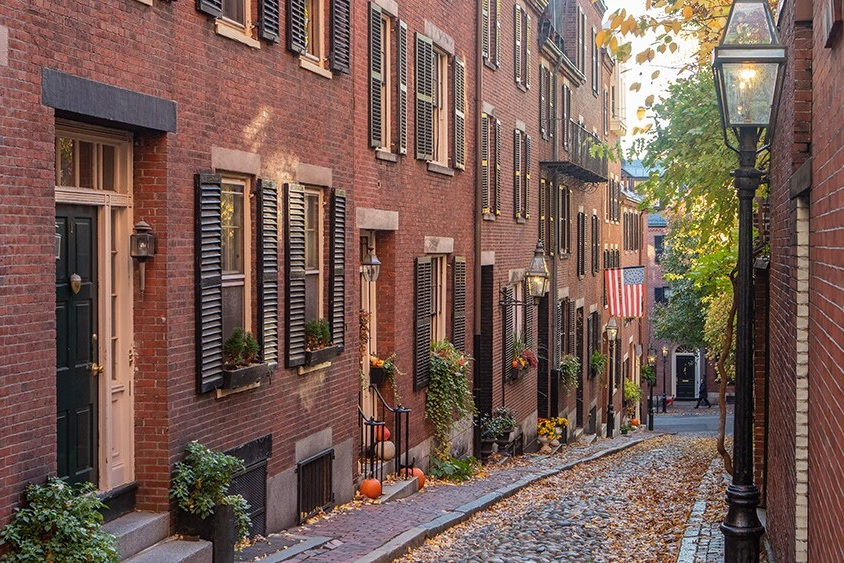 Photo: Beacon Hill via The Liberty, a Luxury Collection Hotel Boston - Boston, Massachusetts