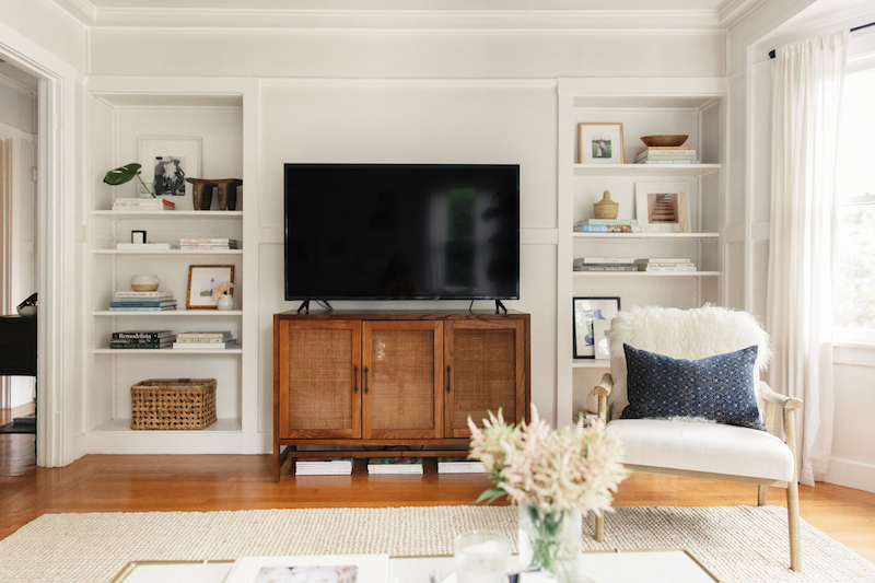 Harlowe & James Home Tour - Media Console