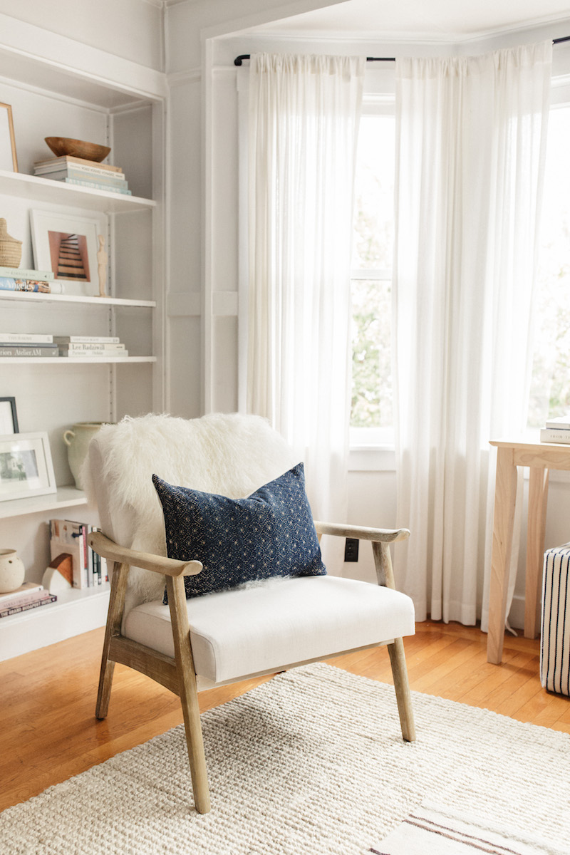 Harlowe & James Home Tour - Accent Chair