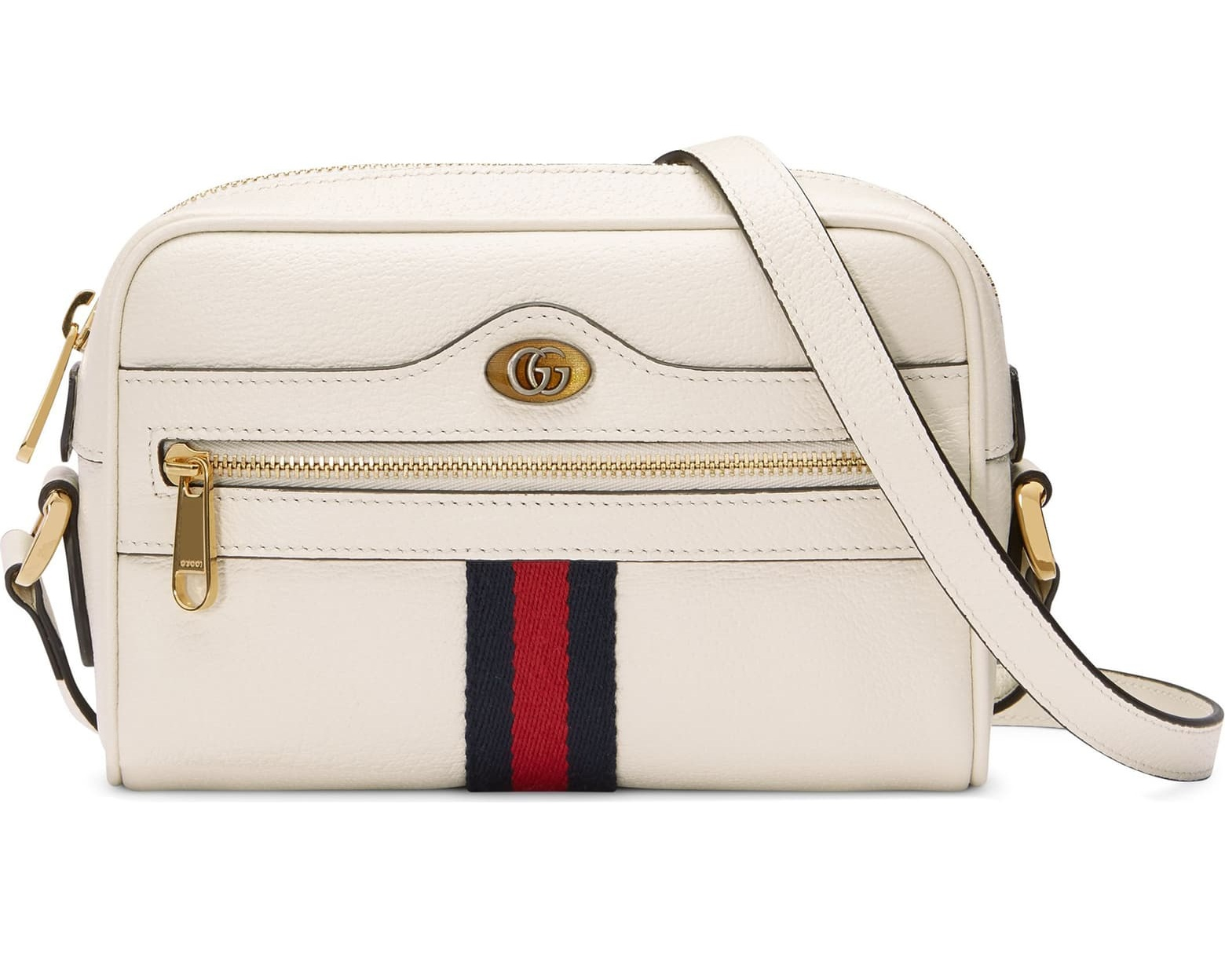 """ophidia"" bag - Mini leather crossbody Gucci bag, $990; Nordstrom"