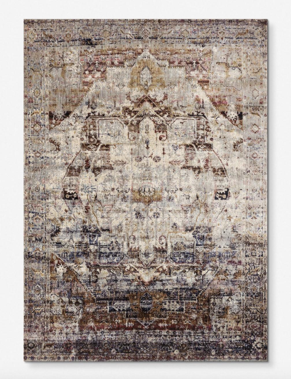 """Mina"" - Persian rug, starting at $139; Lulu & Georgia"