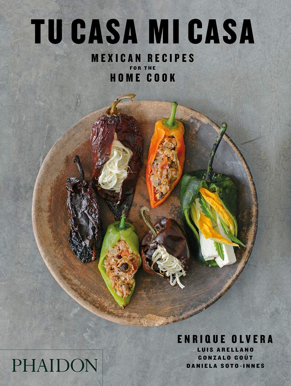Tu Casa Mi Casa cookbook by Chef's Table Enrique Olvera cook book ideas