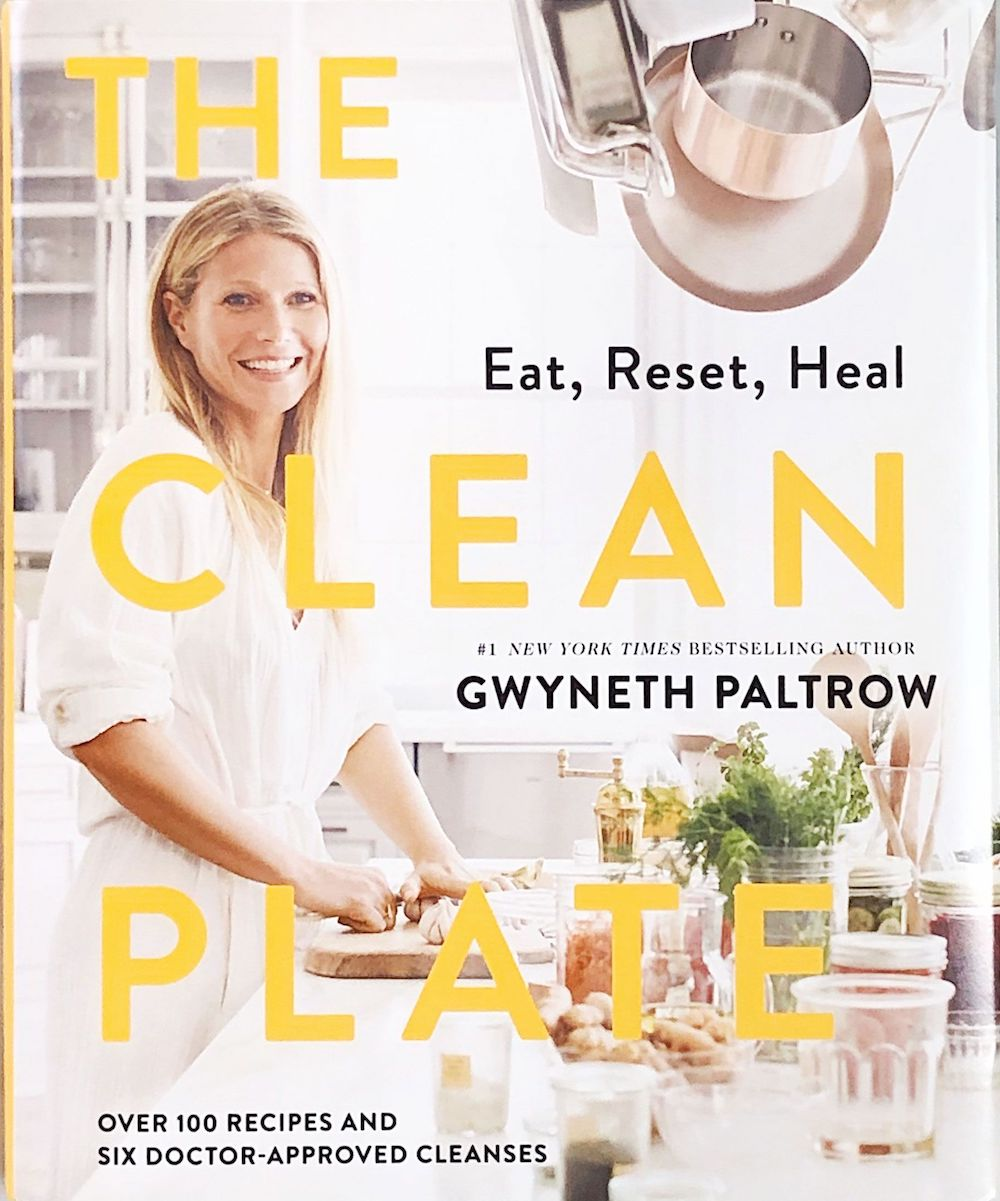 The Clean Plate by Gwyneth Paltrow, goop cookbook ideas