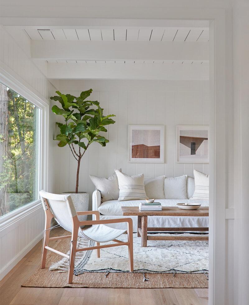 Jenni Kayne Lake House - Living Area