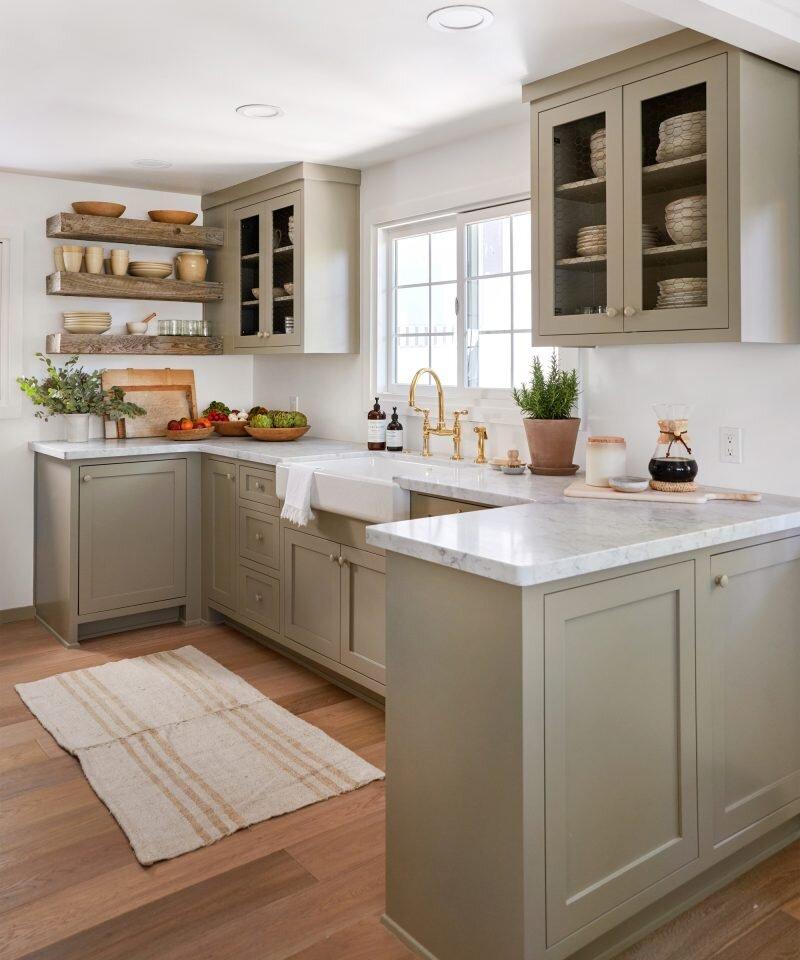 Jenni Kayne Lake House - Kitchen Design