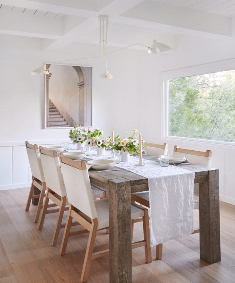 Jenni Kayne Lake House - Dining Room