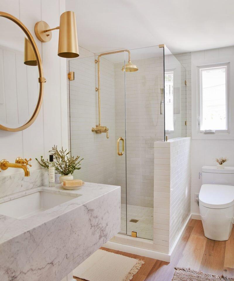 Jenni Kayne Lake House - Bathroom