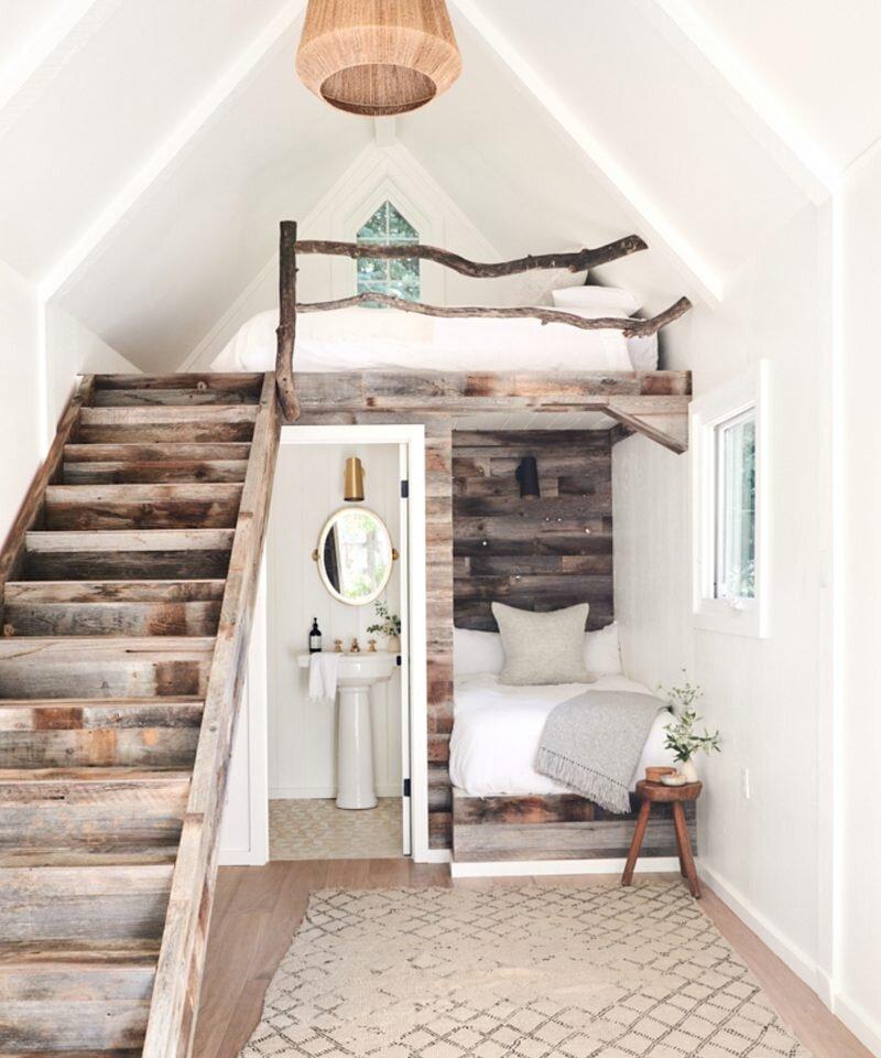 Jenni Kayne Lake House -Guest Bedroom