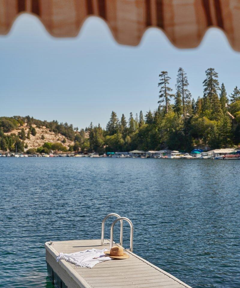 Jenni Kayne Lake House - Dock & Lake Arrowhead