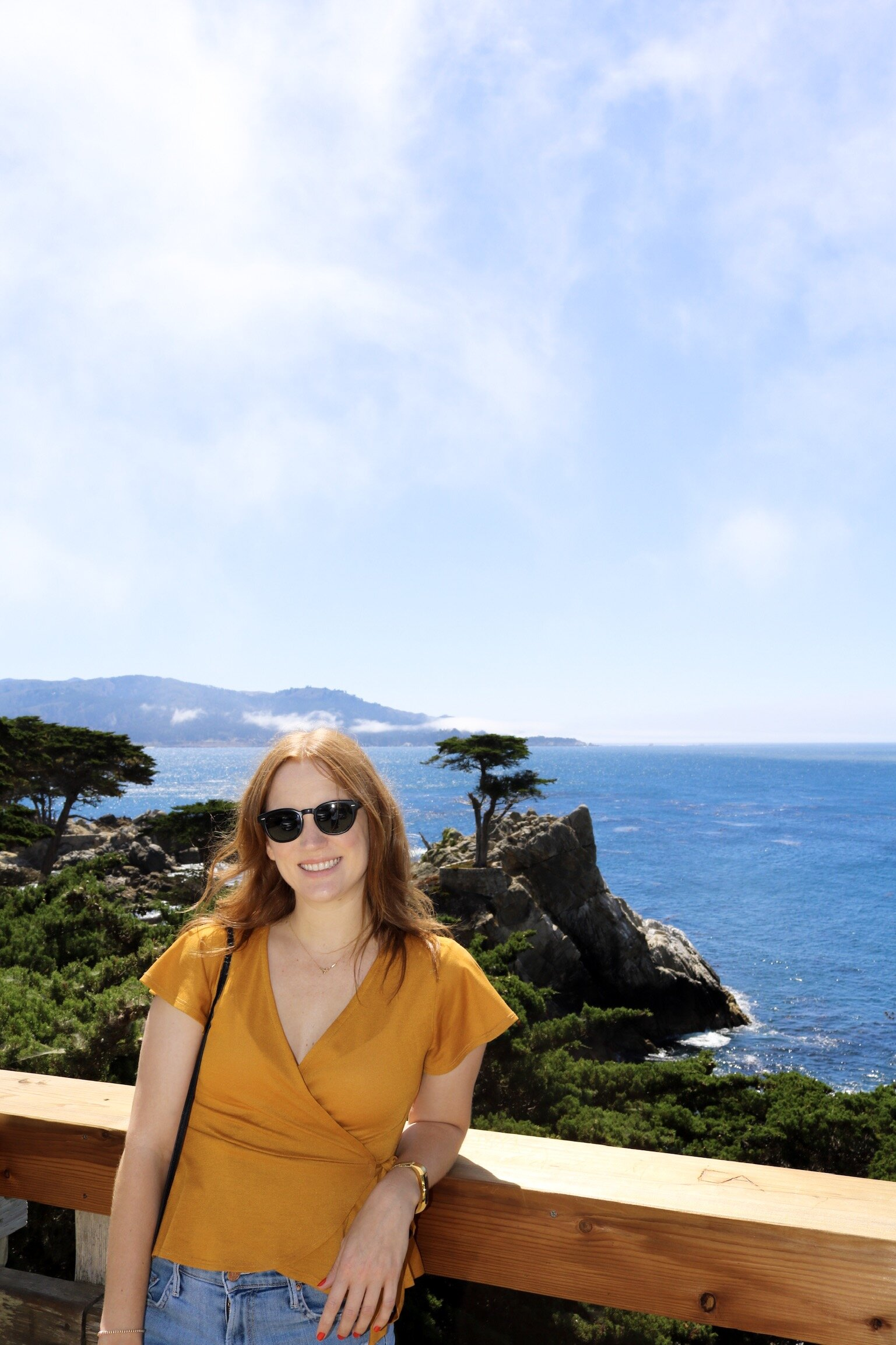 17 Mile Drive stop at The Lone Cypress