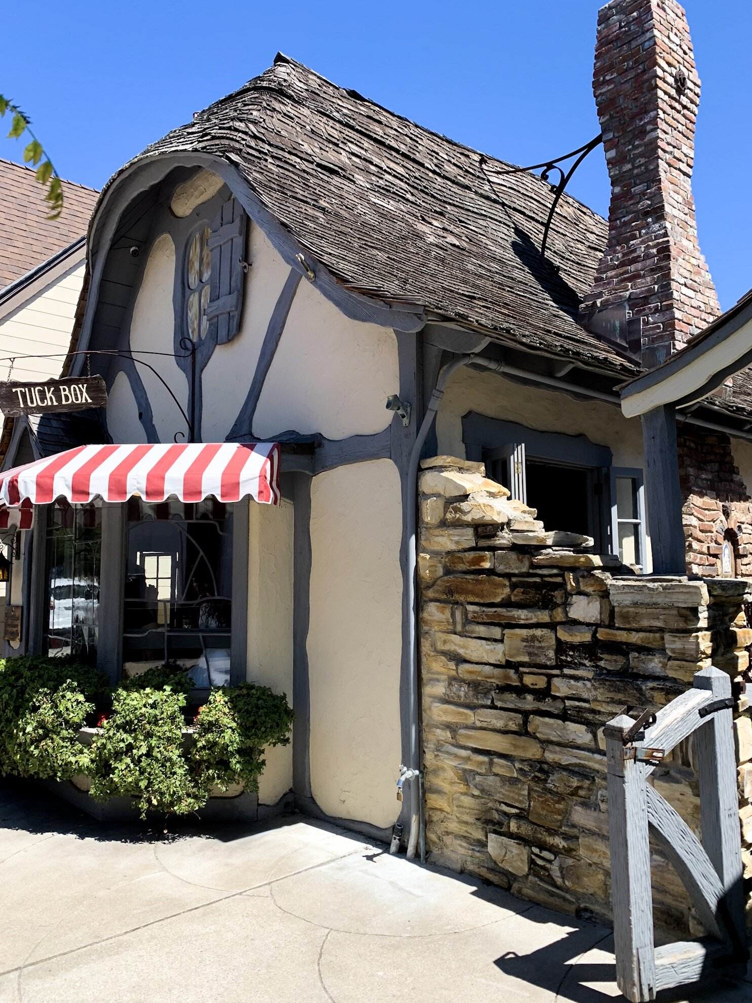 The Tuck Box quaint architecture in Carmel, California