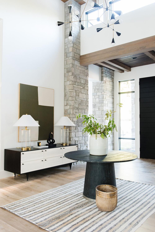 Studio McGee - Modern Lake House - Modern Entryway
