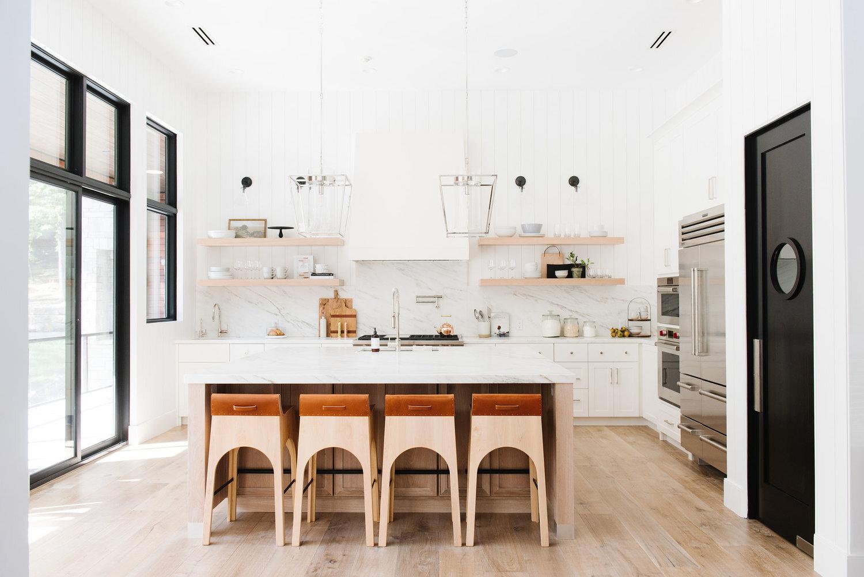 Studio McGee - Modern Lake House - Kitchen