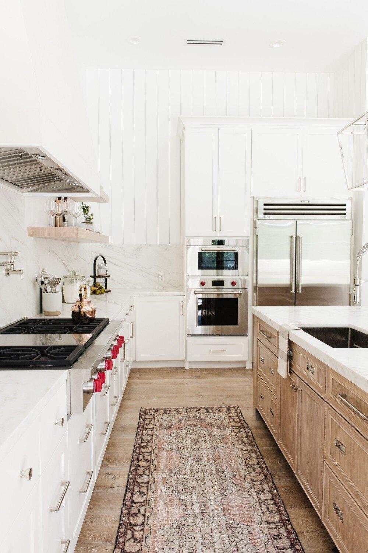 Studio McGee - Modern Lake House - Kitchen Runner
