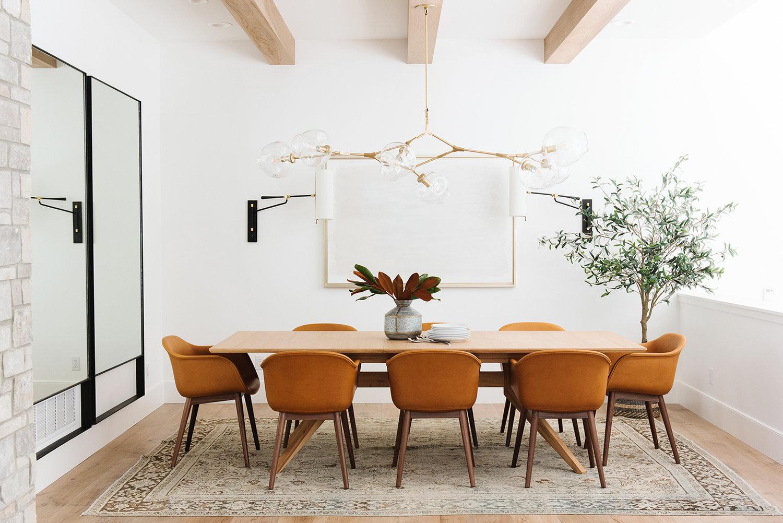 Studio McGee - Modern Lake House - Dining Room