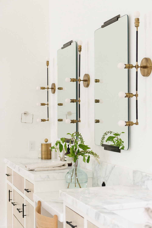 Studio McGee - Modern Lake House - Master Bathroom Vanity