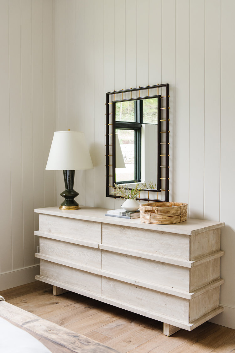 Studio McGee - Modern Lake House - Bedroom Dresser