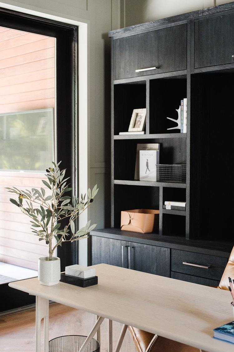 Studio McGee - Modern Lake House - Office