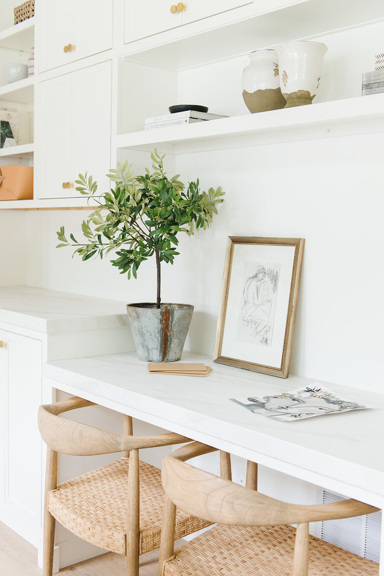 Studio McGee - Modern Lake House - Office Work Space