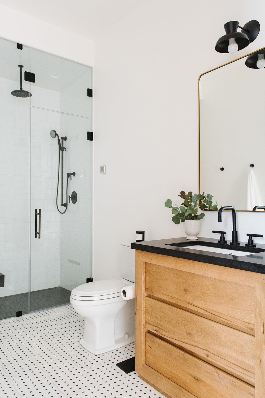 Studio McGee - Modern Lake House - Neutral Bathroom