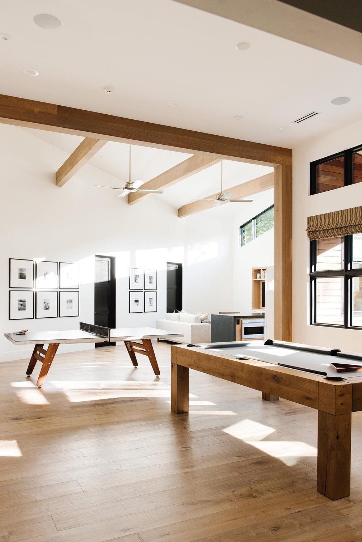 Studio McGee - Modern Lake House - Game Room