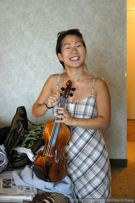 A new violin arrives!