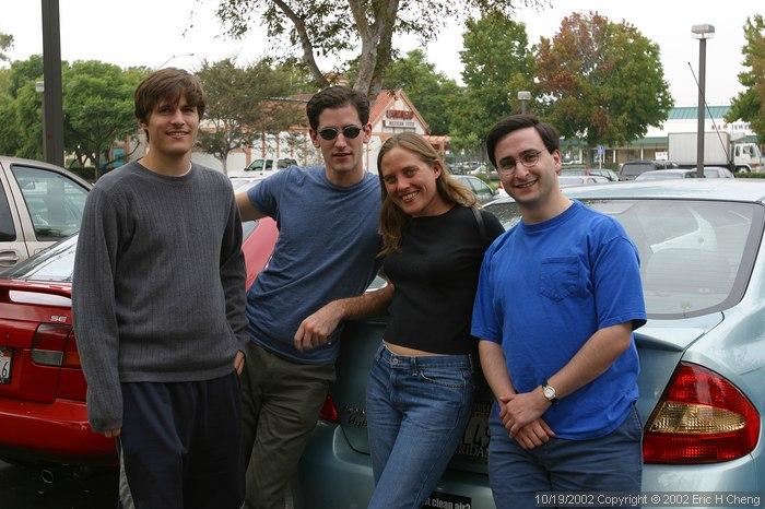 Ben, Matt, Bonnie Foote, and Jeff