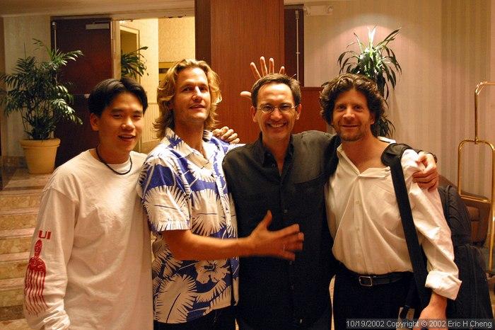 Me, Geoff, Osvaldo, and Barry