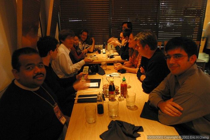 Back at Oki Doki, with Pablo, Matt, Ben, Livia, Geoff, Barry, Osvaldo, Bonnie, Andy, and Jeff