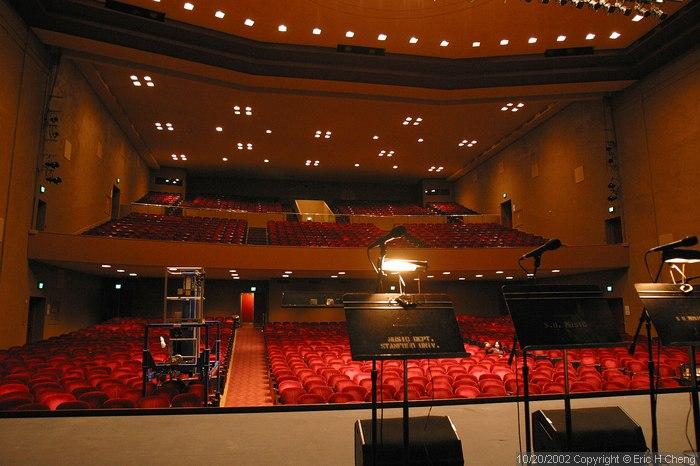 Memorial Auditorium, on Stanford Campus