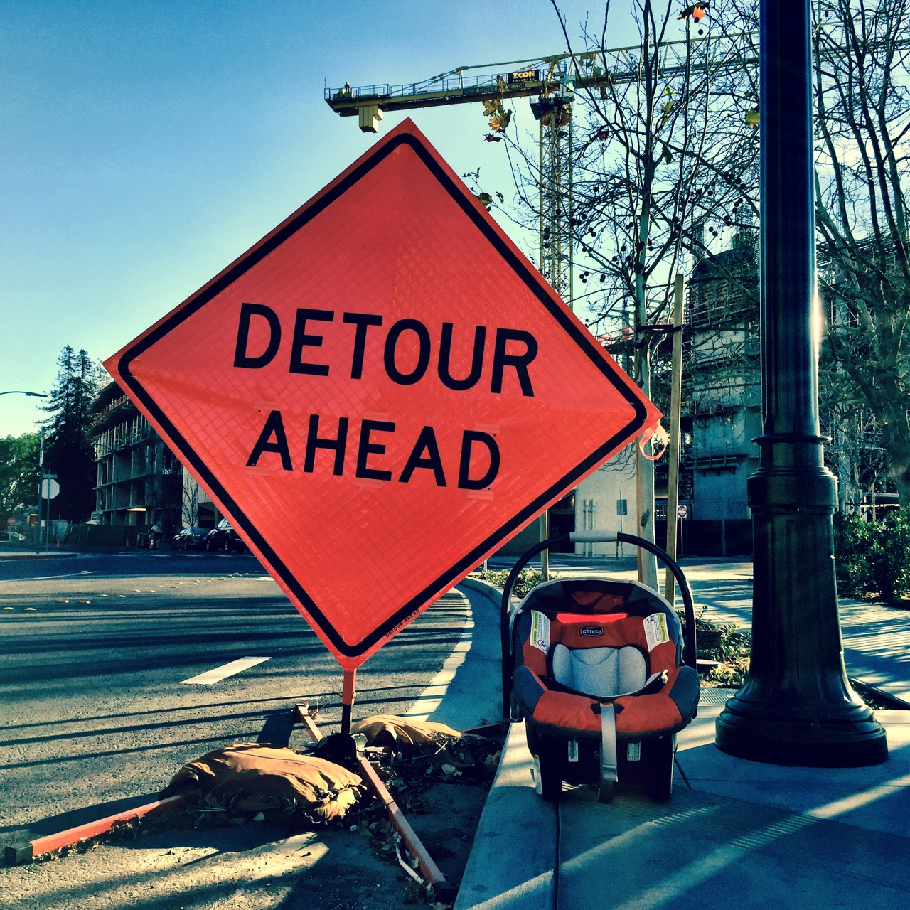 I'm told this detour is the best one yet.