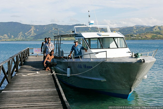 Kai Viti Divers -- we really enjoyed diving with them