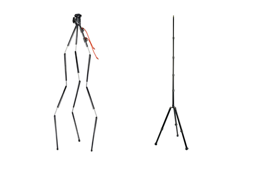 The Tamrac TR406 ZipShot and the Promaster LS-CT Light Stand
