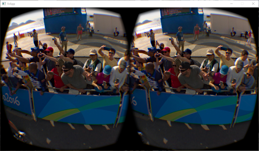 Can you spot the 360 photographer?