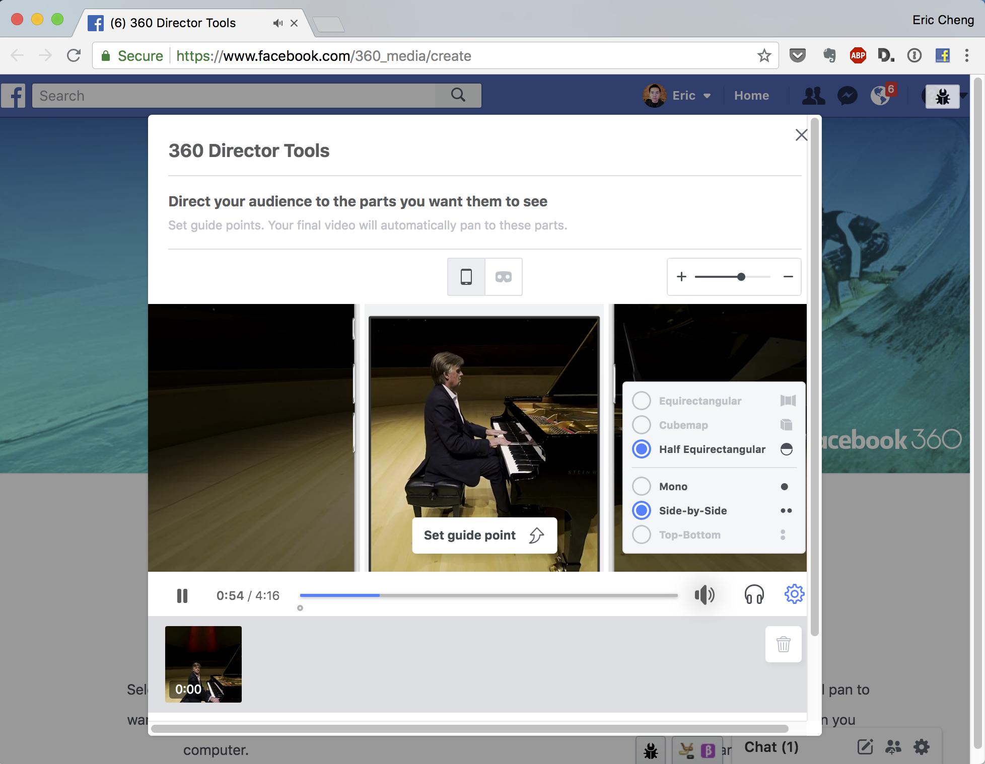 Facebook 360 Director Tools