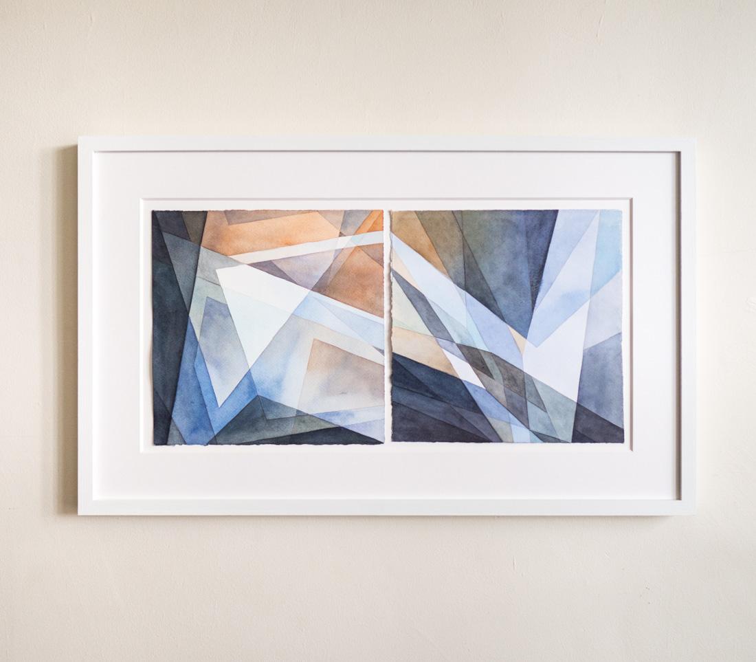 """Arrow, 16"""" x 26.5"""" framed - $600"""