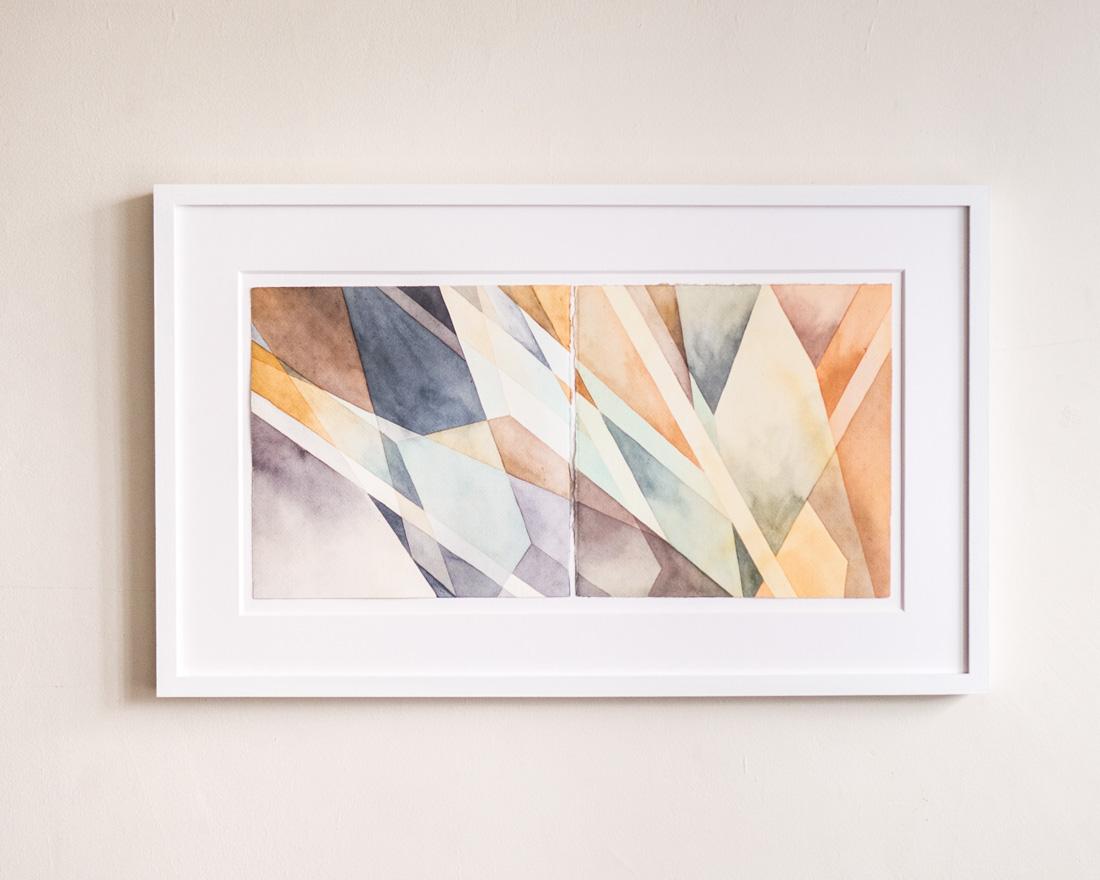 """Light Touch, 16"""" x 26.5"""" framed - $600"""