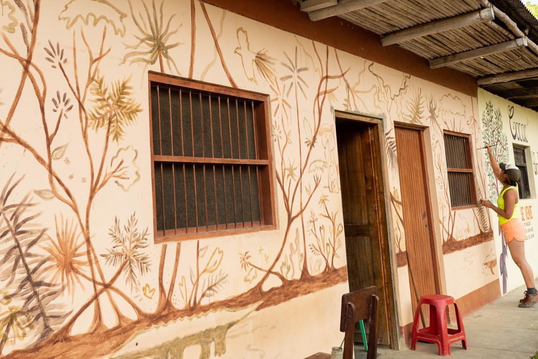 Natural Pigments Mural