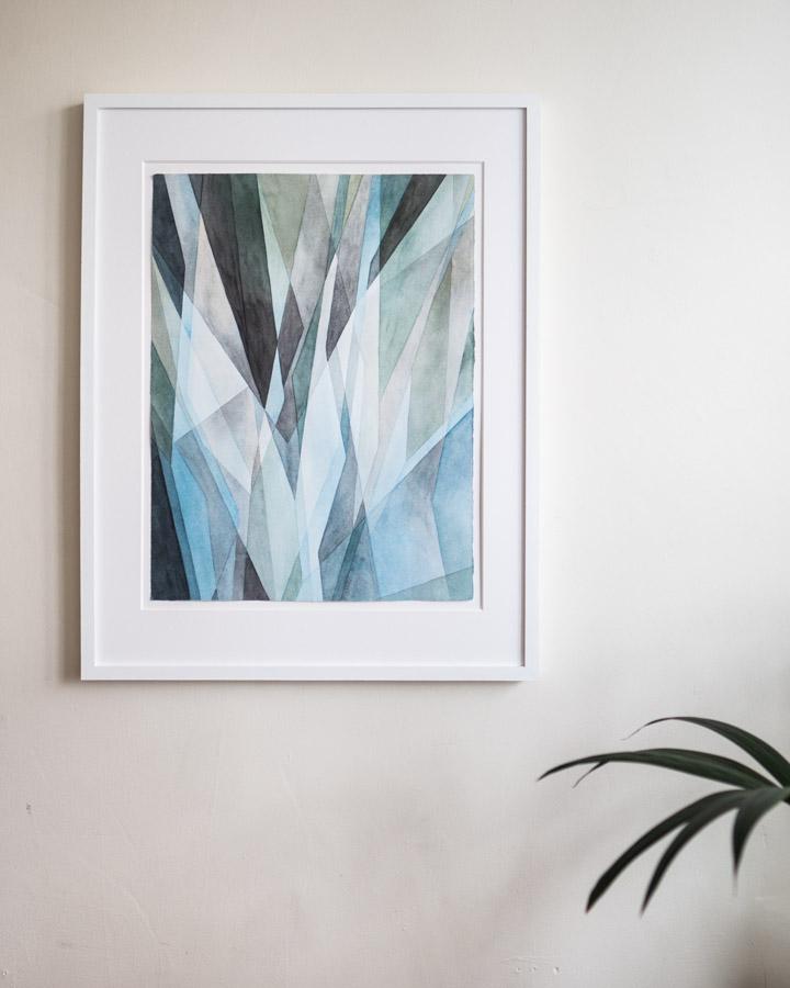 """Streak, 27.5"""" x 21.5"""" framed - $800"""