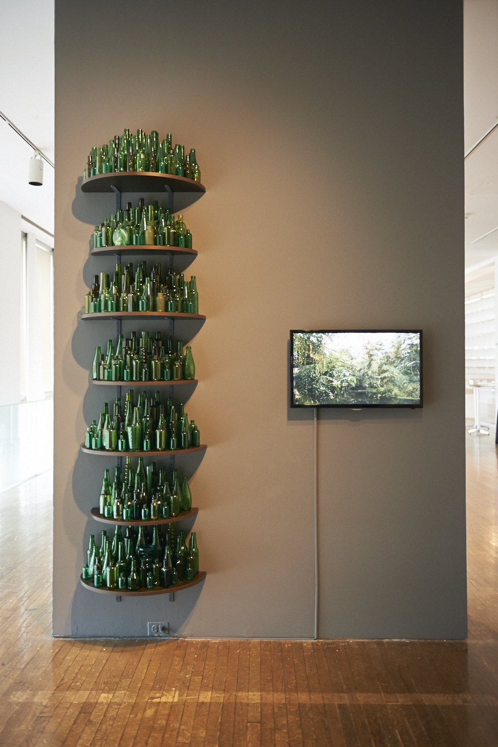 The Forest Speaks Back. Donna Ong, 2-channel video and mixed-media installation, 2014. Image courtesy of the artist.