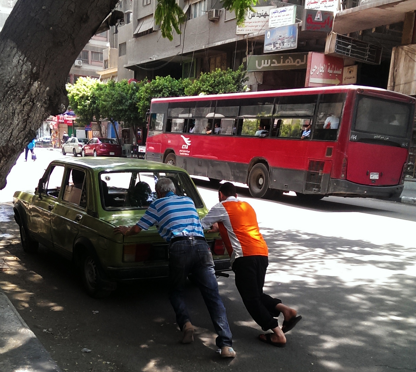 Mobilising revitalisation in downtown Cairo. Image courtesy of   Anna Rowell.