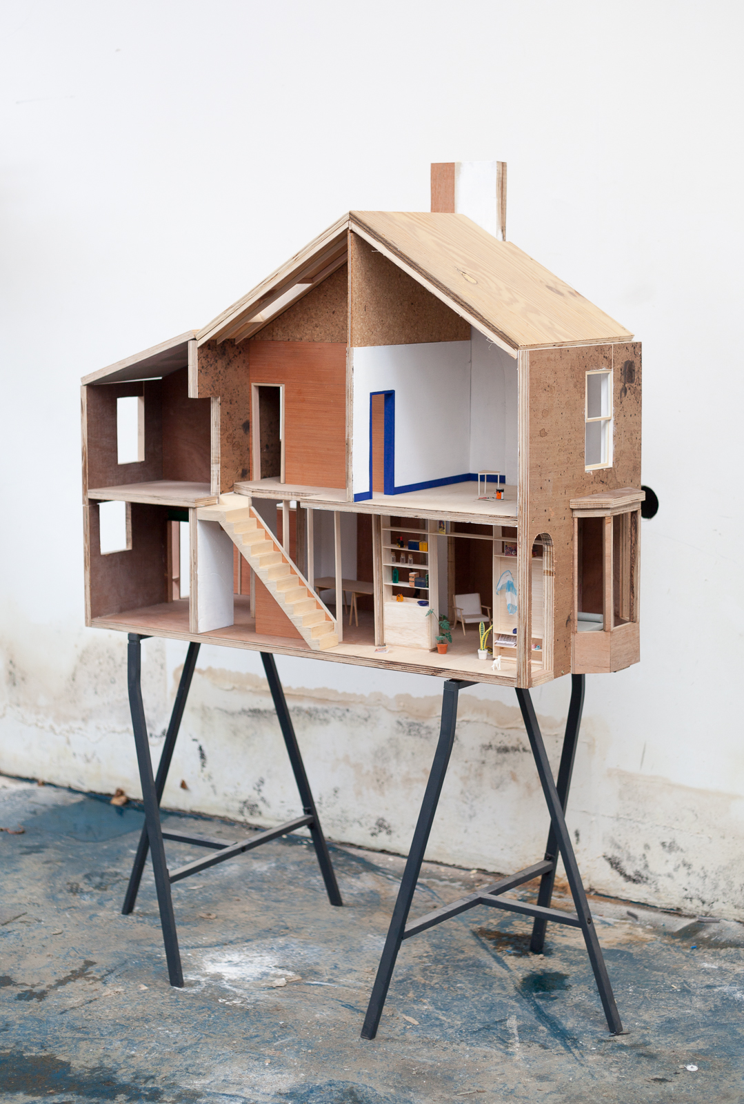 CLT Model, Granby Four Streets. Image courtesy of Assemble.