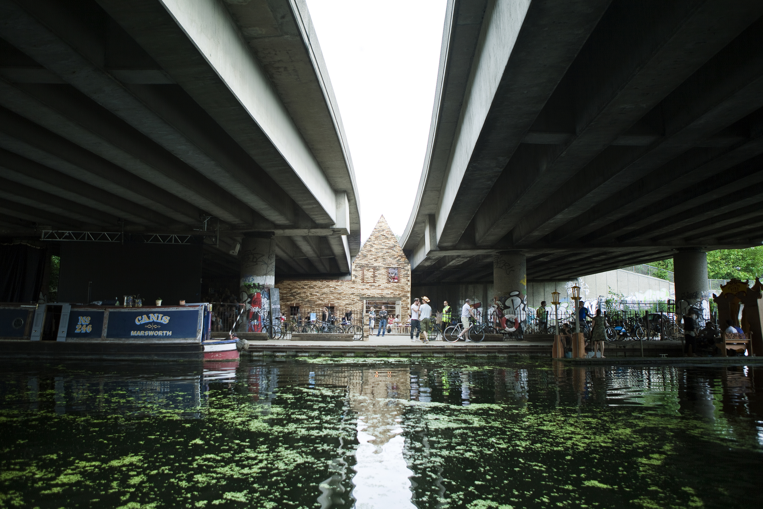 Folly for a Flyover. Image courtesy of Assemble.