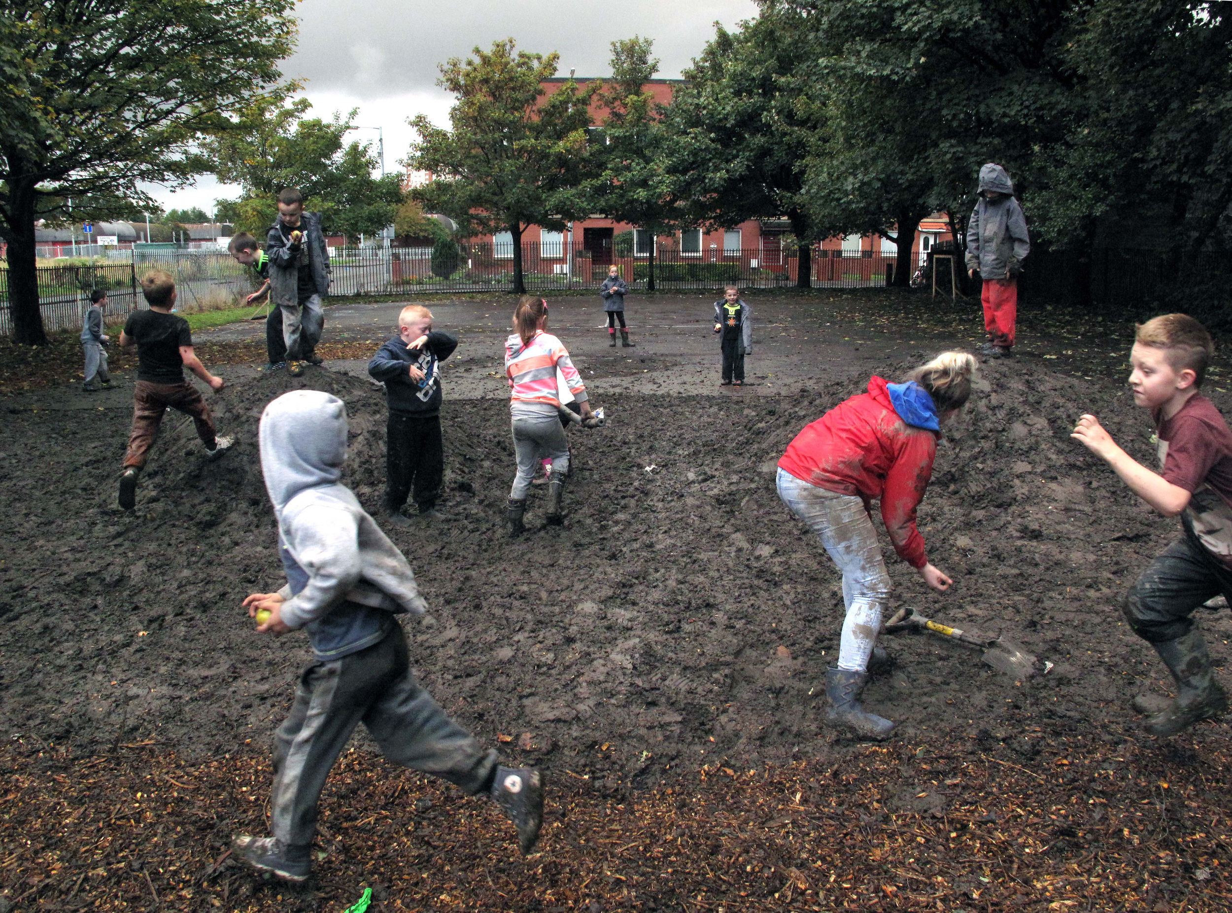 Baltic Street Adventure Playground. Image courtesy of Assemble.
