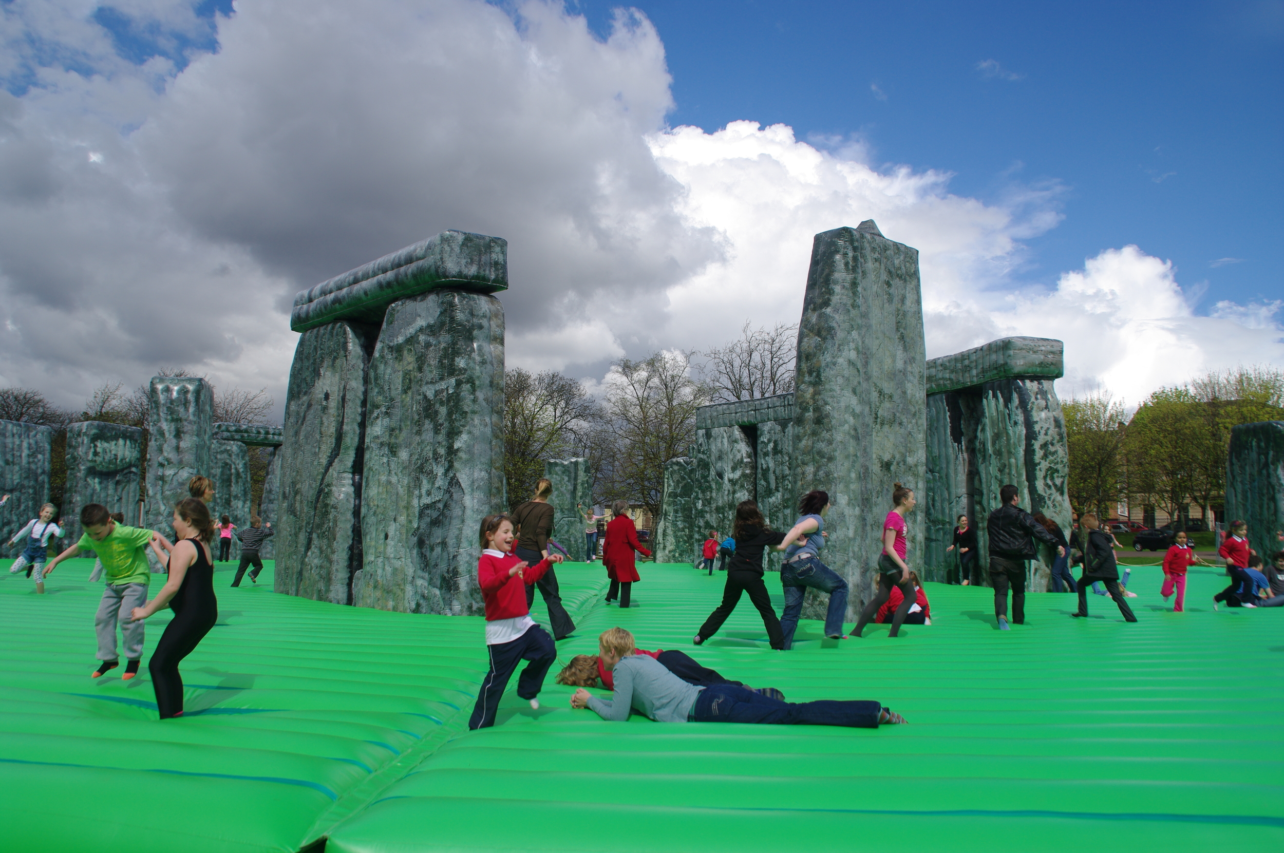 Sacrilege , installation, 2012. Image courtesy of Jeremy Deller.