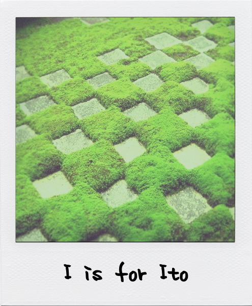 I is for Teiji Ito, Japanese landscape scholar and author.