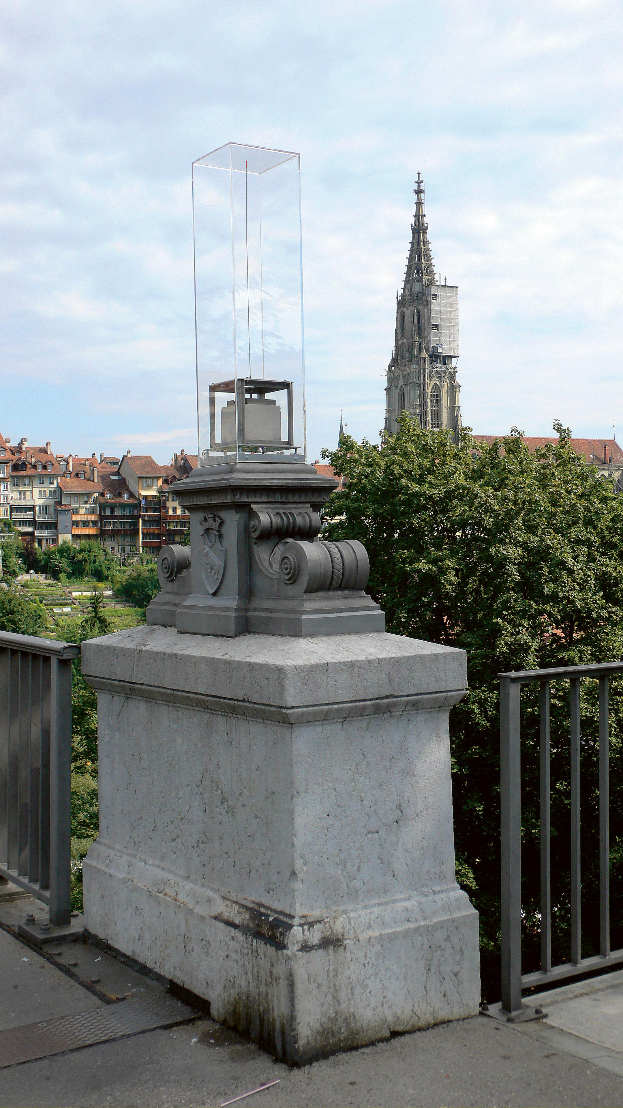 Der stille Portier, 2006. Image courtesy of Florian Dombois.