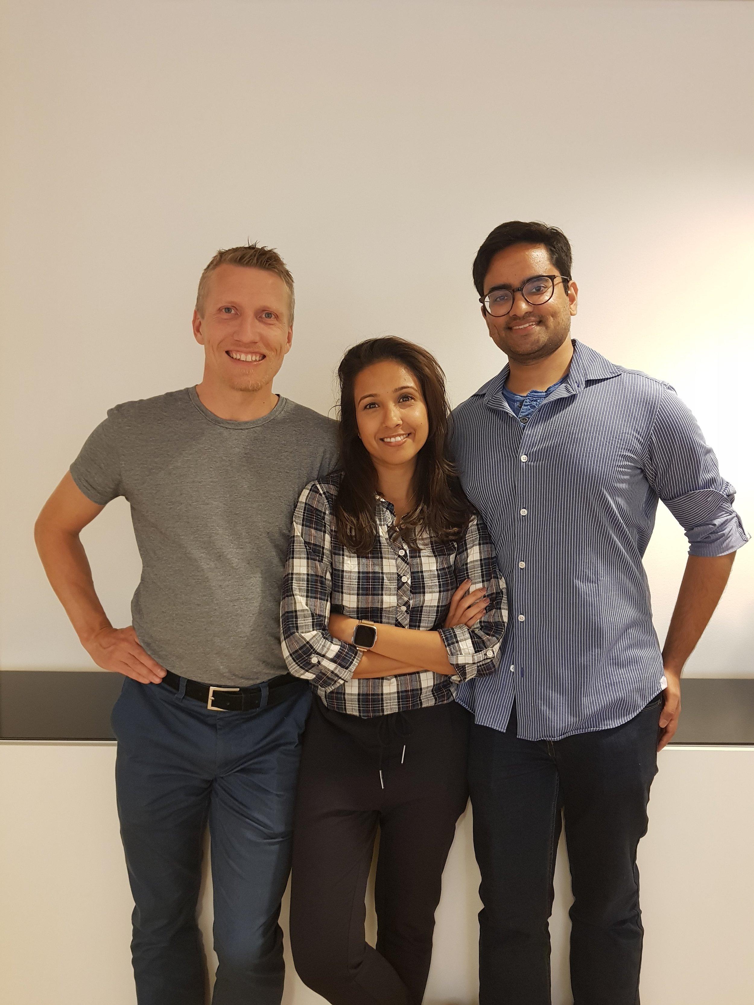 - The Skyqraft Team; David Almroth, Sakina Turab Ali & Umar Chughtai